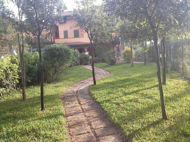 Casa nella pineta stanze private immersi nel verde