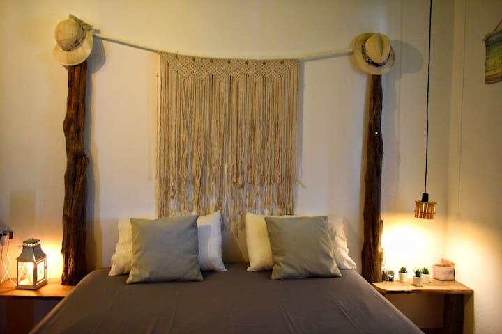 Hand made master bedroom
