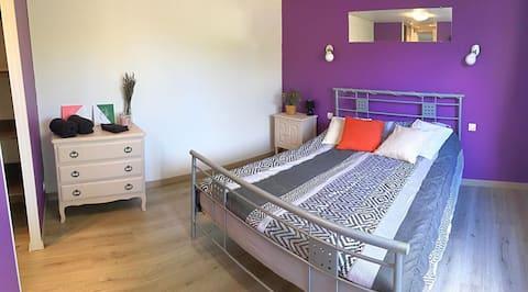 Appartement T2 avec terrasse et jacuzzi