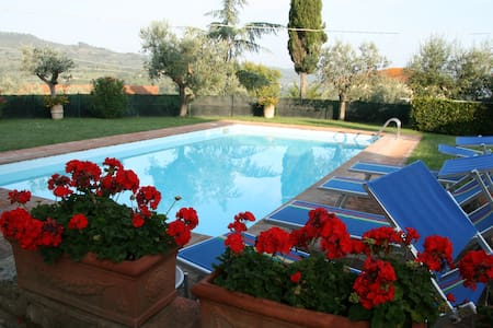 Nice Apartment in Tuscany with pool - Wohnung