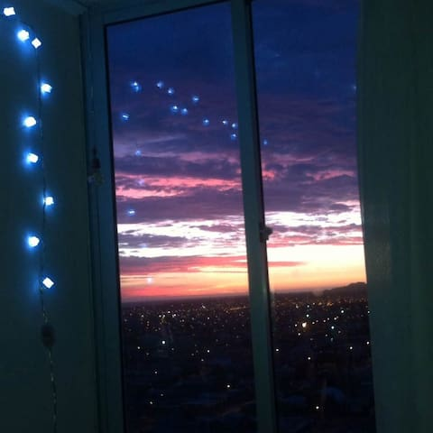 Comparto Departamento amoblado, comodo linda vista - Talcahuano - Apartamento