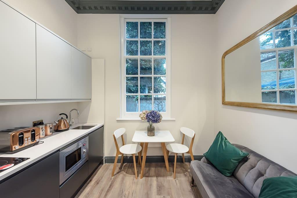 Handsome notting hill studio apartamentos en alquiler en londres inglaterra reino unido - Alquilar apartamento en londres ...