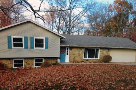 Nice Tri Level Home near IU Stadium/Assembly Hall - Ellettsville - Дом
