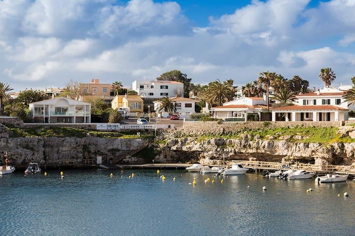 Villa in the charming port, Cales Fonts, Menorca