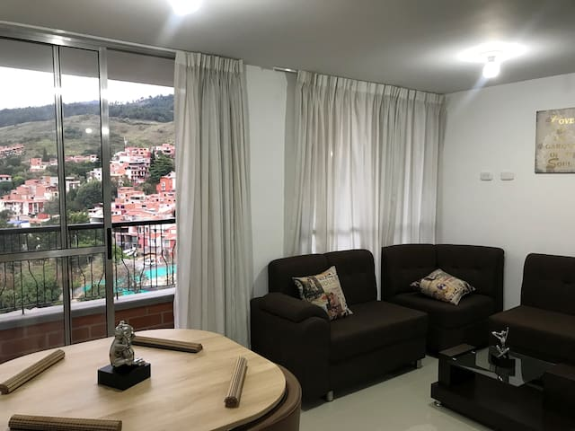 Beautiful apartment in the north of Medellin.