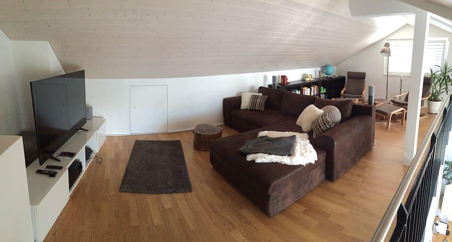 Zimmer in moderner WG in Biel B - Biel - Apartament