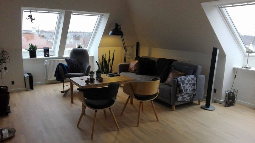 Lækker penthouse i Viborg centrum - Viborg - Apartamento
