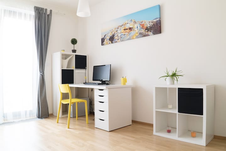 New gorgeous apartment 10 min from city center