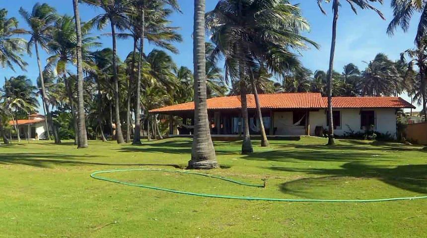 Casa na Praia Guajiru (Flexeiras)-front beach/kite - Guajiru - Casa