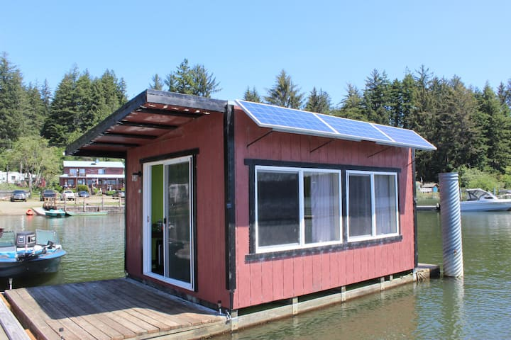 Siltcoos Floating Cabin