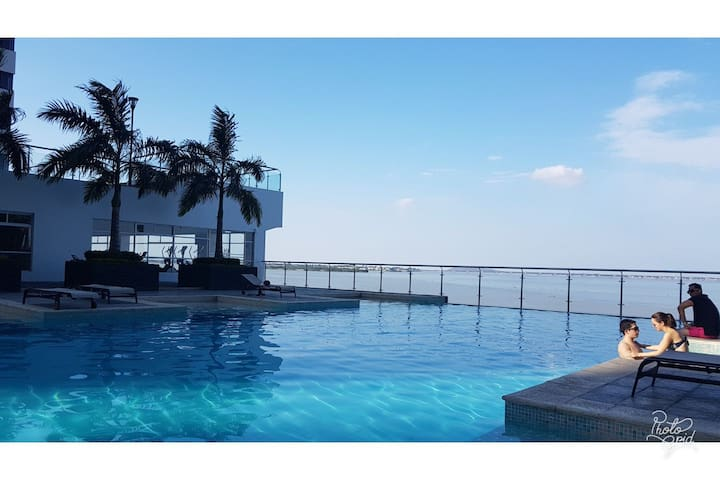 Resort Bellini Dpto Vista Río Puerto Santa Ana