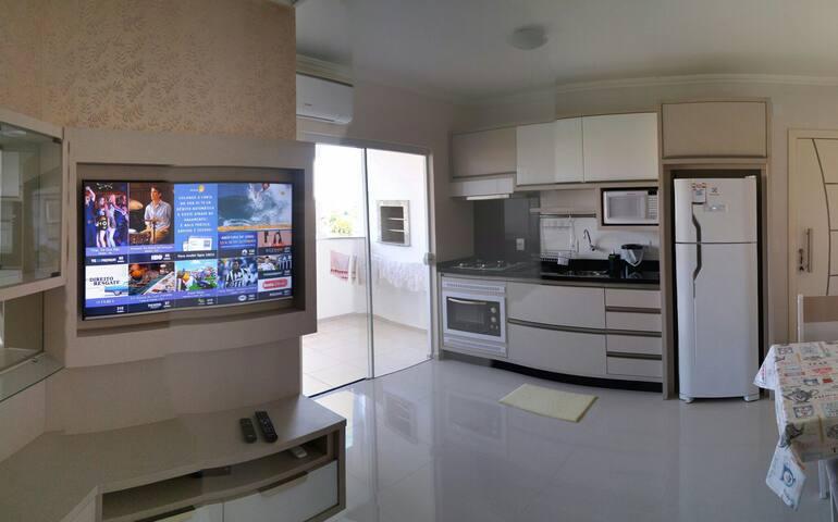 Apartamento para Temporada Novo - Florianópolis - Lägenhet