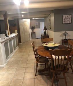 The Cottage Suite  A bright basement apartment