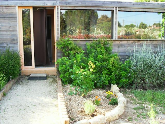 La cabane des cigales lumineuse, calme et coquette - Lauris - Apartament