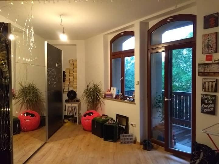 Individuelle 1-Raum-Wohnung