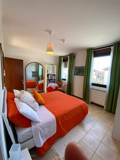 Tuin van Venetië oranje kamer luxe