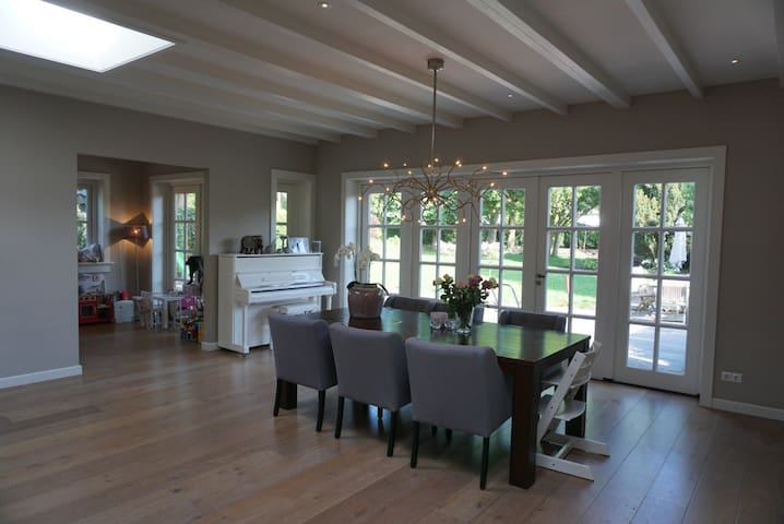 Exclusive family house in Laren near Amsterdam