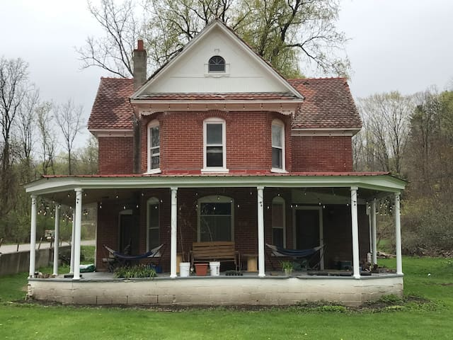 Historic Home in Alfred Station NY (203)