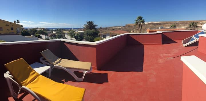 Villa Rosa 300 meters Beach/Playa