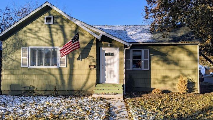 Shared home near Glacier Park and two ski areas.