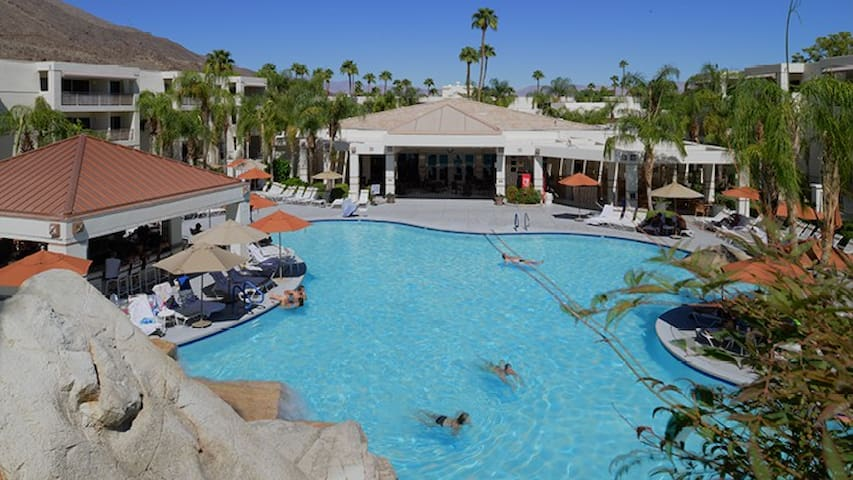Palm Canyon Resort Jr Villa for 4 from $149