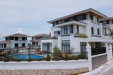 The villa 500m2:pool,bbq outdoor,Ha Long bay view