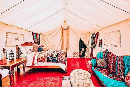Valley Village Arabian Nights Glamping tent