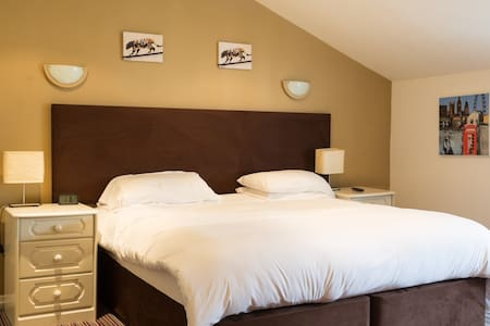 Private room in a hotel, Saxmundham, Suffolk - Saxmundham - Pousada