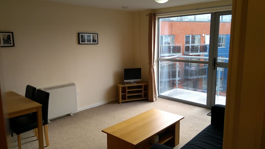 Modern 1 Bed Apartment Leeds Centre + Free Parking