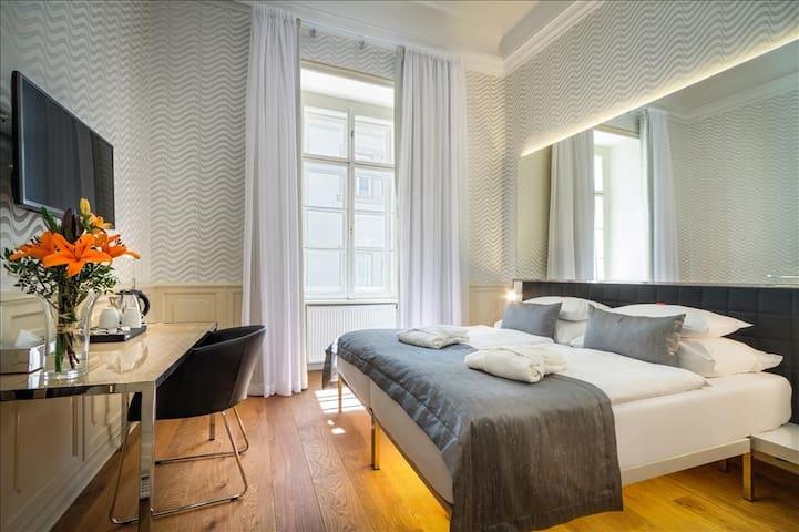 Double room just under the Prague Castle