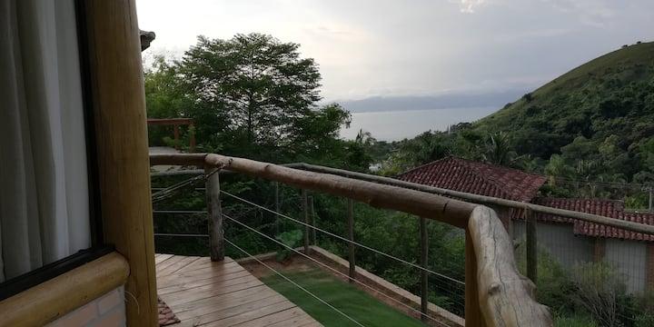Bangalô África com vista para o mar! :)