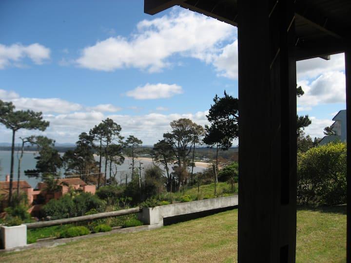 Punta del Este, Uruguay, house with ample seaview