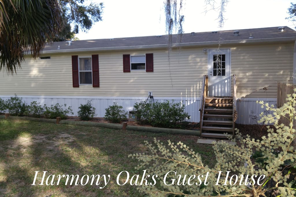 Welcome to Harmony Oaks Guest House