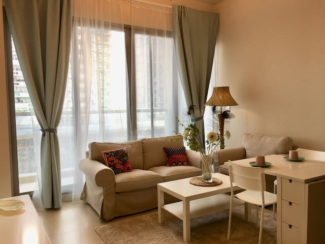 Nice brand new 1BD apartment, fully furnished