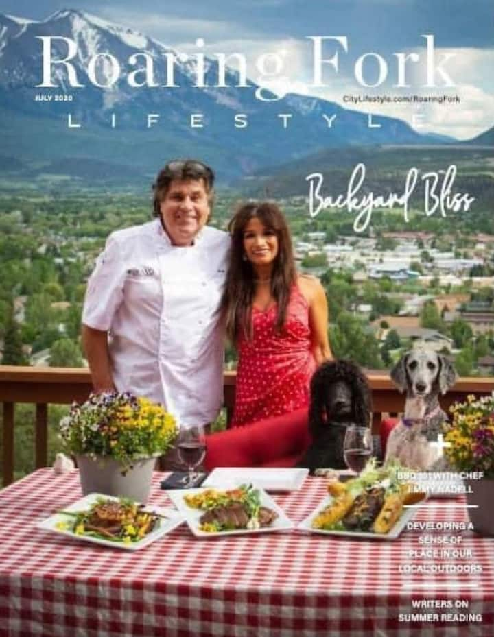 Celebrity Chef Chalet.  ChefJimmy & Monique Nadell