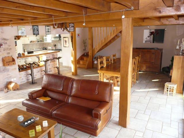 le petit paradis - Villeneuve - Huis