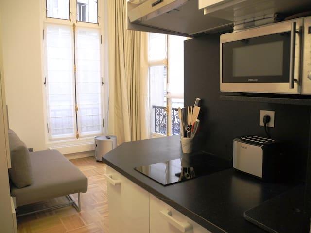 Brand new Studio on Champs Elysees - Paris - Daire
