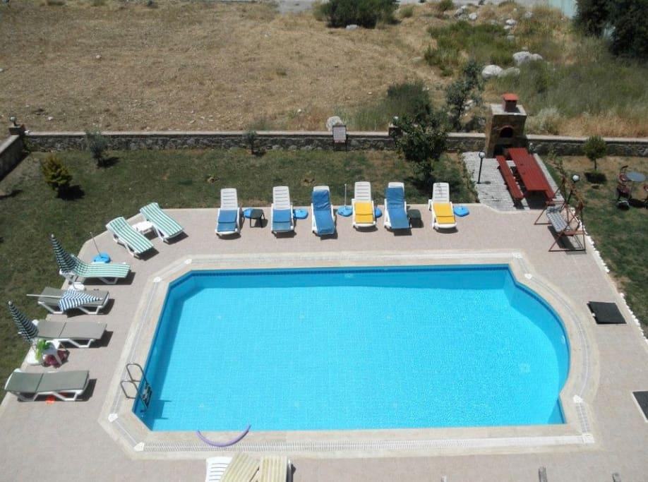 Communal pool and gardens, only shared with 4 other