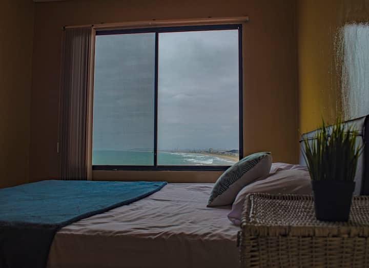 """""""Caballo de Mar"""" - Master bedroom - CasaMiramar"""