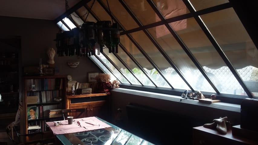 APPARTMENT WITH SKYLIGHT