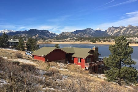 Gorgeous Estes Lake Cabin [2nd of 2] - Estes Park - Stuga