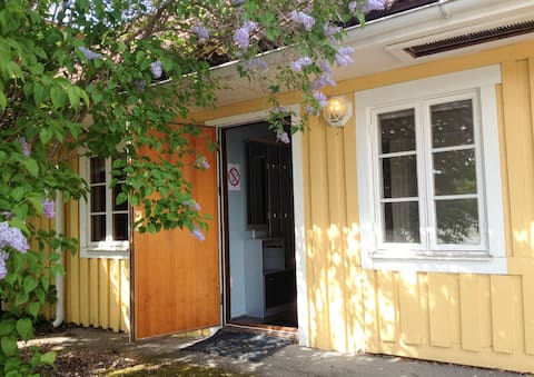 Centralt hus i Kulturstaden Nora i Bergslagen. (G)