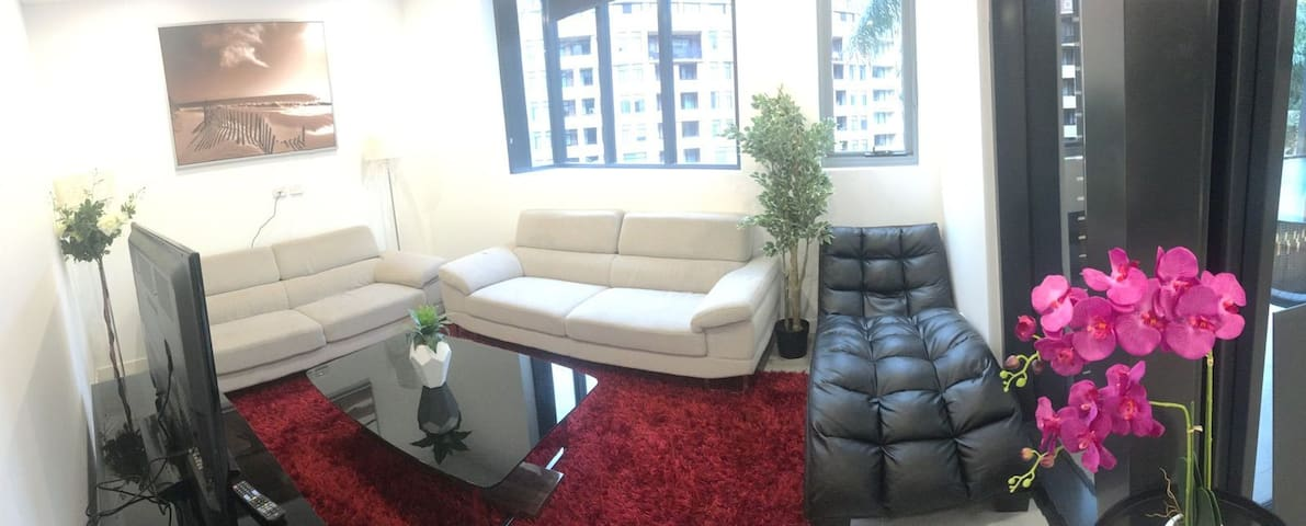 2BR darling harbour apartment with free parking - Pyrmont - Lakás