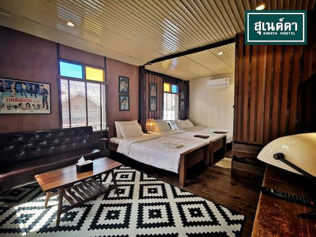 Suneta Hostel Chiang Khan - Family Room