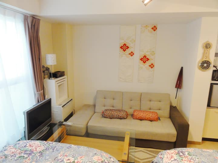 Sk12 .Cozy 1 Room in downtown city center.Free P有り