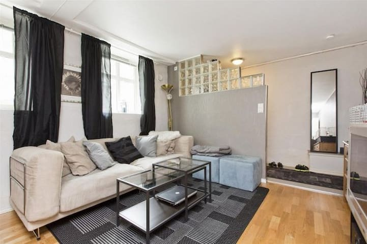 Central 2-Room Apt. 600m From Train Station