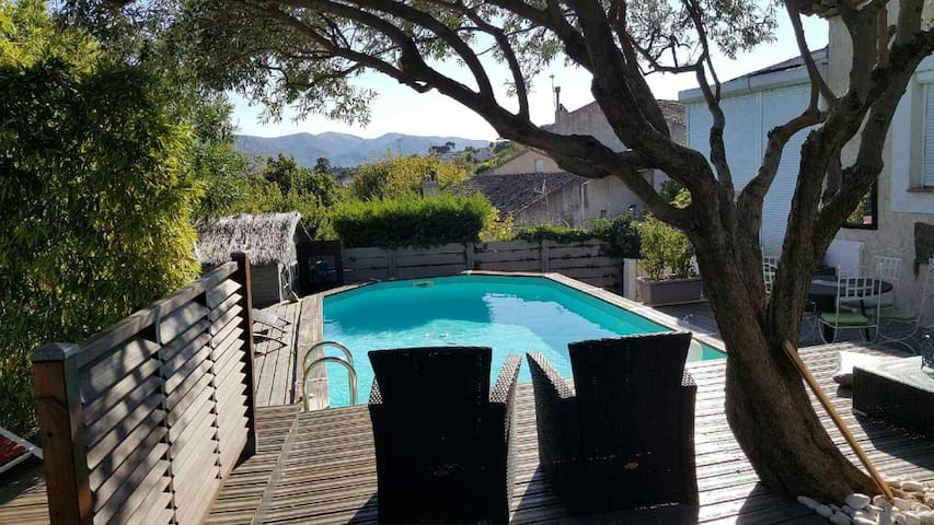 La.villa le petit Nice offre un agreable sejour
