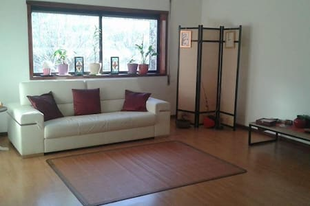 Bright and large room in big apartment near center - Braga
