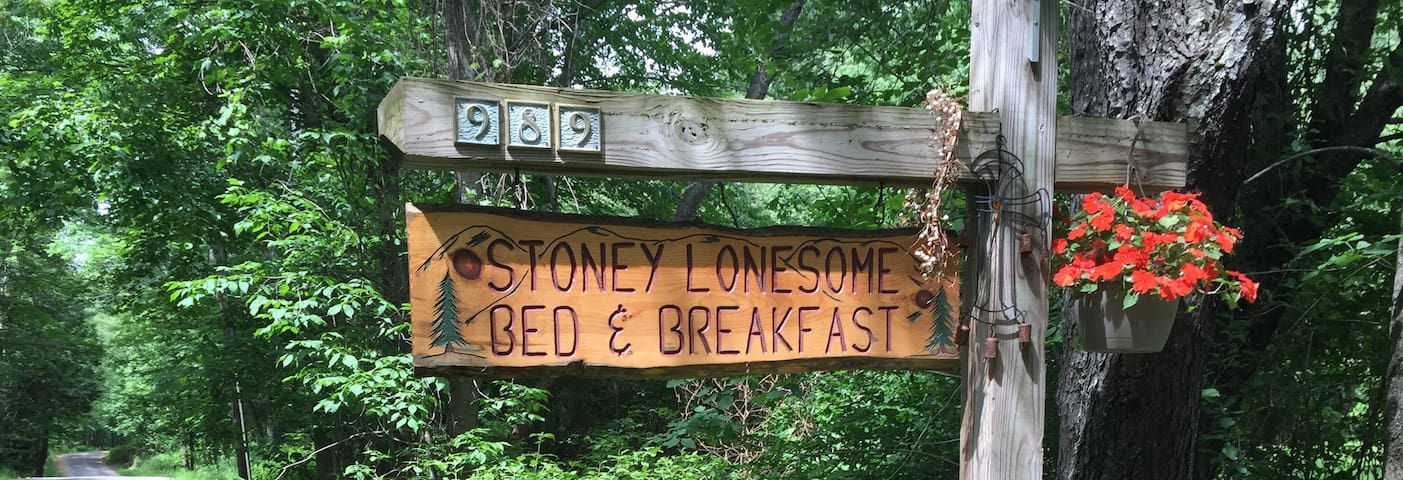 Stoney Lonesome Bed and Breakfast: for 1-2 people