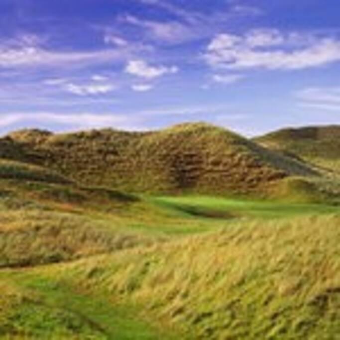 Close to Carne Golf course.